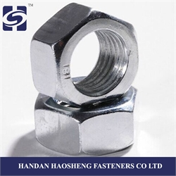 DIN 934 Hex Nuts , DIN 934 Galvanized hex Nuts , DIN 934 Black hex Nuts with ISO 9001: 2008