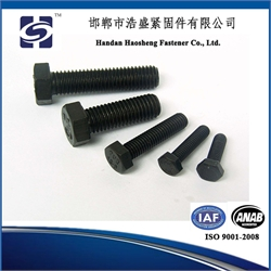 High strength hex head bolt and nut DIN931