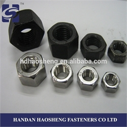 Hex Nuts DIN 934 with ISO 9001: 2008